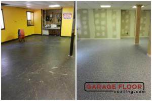 Garage Floor Coating Epoxy Garage Floor System - Residential - Before & After (87)