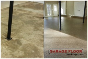 Garage Floor Coating Epoxy Garage Floor System - Residential - Before & After (88)