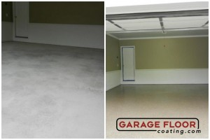Garage Floor Coating Epoxy Garage Floor System - Residential - Before & After (89)