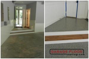 Garage Floor Coating Epoxy Garage Floor System - Residential - Before & After (9)