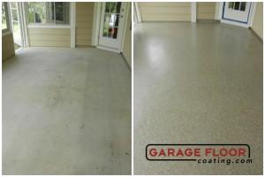 Garage Floor Coating Epoxy Garage Floor System - Residential - Before & After (90)