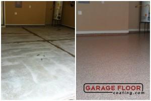 Garage Floor Coating Epoxy Garage Floor System - Residential - Before & After (91)