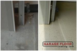 Garage Floor Coating Epoxy Garage Floor System - Residential - Before & After (93)
