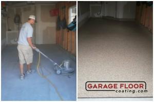 Garage Floor Coating Epoxy Garage Floor System - Residential - Before & After (94)